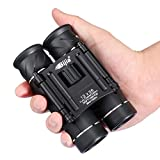 G4Free 12x26 Mini Binoculars HD BAK4 Clear Optical Lens,Ultra-Vision, Portable Compact Telescope for Bird Watching Outdoor Sports Events Concerts Sightseeing
