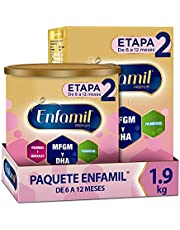Enfamil Premium Promental Etapa 2 Fórmula para Lactantes de 6 a 12 meses Paquete Promo 1.9 kg