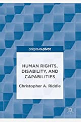 Human Rights, Disability, and Capabilities Hardcover