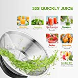 Juicer, Aicok Juice Extractor Easy to Clean, 800W