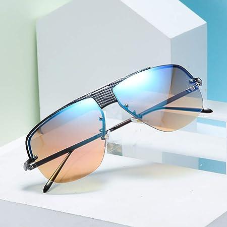 VIUNCE Gafas de Sol para Hombre, Tendencia Europea y Americana ...