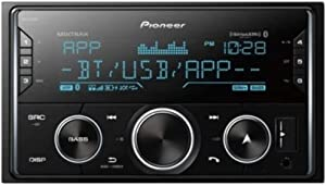 Pioneer MVH-S620BS Double DIN Digital Media Receiver with Enhanced Audio Functions, Improved ARC App Compatibility, MIXTRAX, Built-in Bluetooth, and SiriusXM-Ready