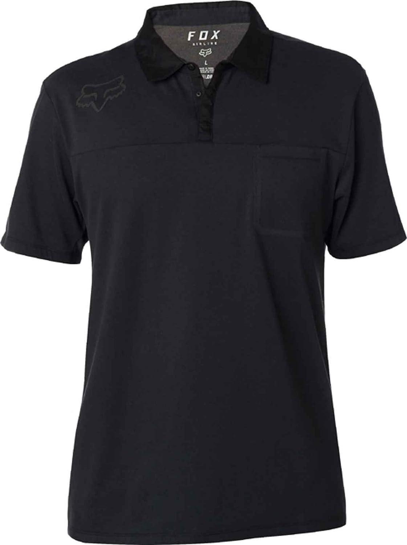 Fox Racing Mens Redplate 360 Tech Polo Shirts