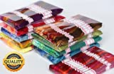 LE PAON-Premium 100% Long-Staple Cotton Mercerized Pull-Strong Cross Stitch Threads- Crafts Floss-Bracelet String-Assorted Colors-240 Skeins 8m/8.7yard Hand Embroidery Floss (240)