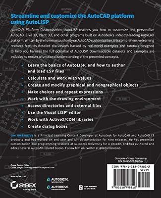 AutoCAD Platform Customization: AutoLISP: Lee Ambrosius: Amazon com