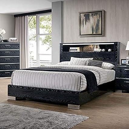 Amazon.com: Esofastore Queen Size Platform Bed Headboard ...