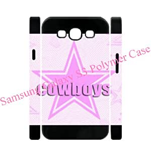 Christmas gift-Samsung Galaxy S3 S III 3D Polymer soft case with Cowboys pattern designed by Coolphonecases