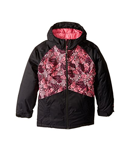 The North Face Kids Girl's Brianna Insulated Jacket (Little Kids/Big Kids) Cha Cha Pink Butterfly Camo (Prior Season) Large