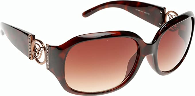7037d9cad0e6d Guess Brown Tortoise Shell Ladies Sunglasses GU 7005N TO34 Cat 3   Amazon.co.uk  Clothing