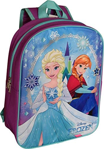 Group Disney Frozen Backpack Purple Blue product image