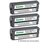 canon selphy cp900 battery - Kastar Battery NB-CP2L (3-PACK) for Canon NB-CP1L NB-CP2L and Canon Compact Photo Printers SELPHY CP100 CP200 CP220 CP300 CP330 CP400 CP510 CP600 CP710 CP730 CP770 CP780 CP790 CP800 CP900 CP910