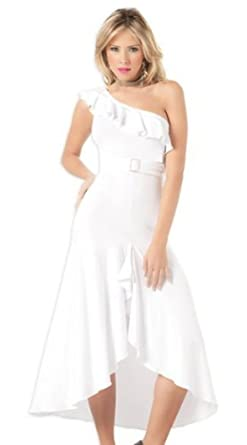 White Cocktail Dress Size 14