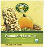 Nature's Path Organic Chewy Granola Bars, Pumpkin-N-Spice Flax Plus, 7.4 Ounce Box,  6-Count Boxes (Pack of 6)