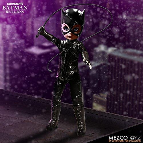 LDD Presents Living Dead Dolls Batman Returns: Catwoman Doll (Living Dead Dolls Day Of The Dead)