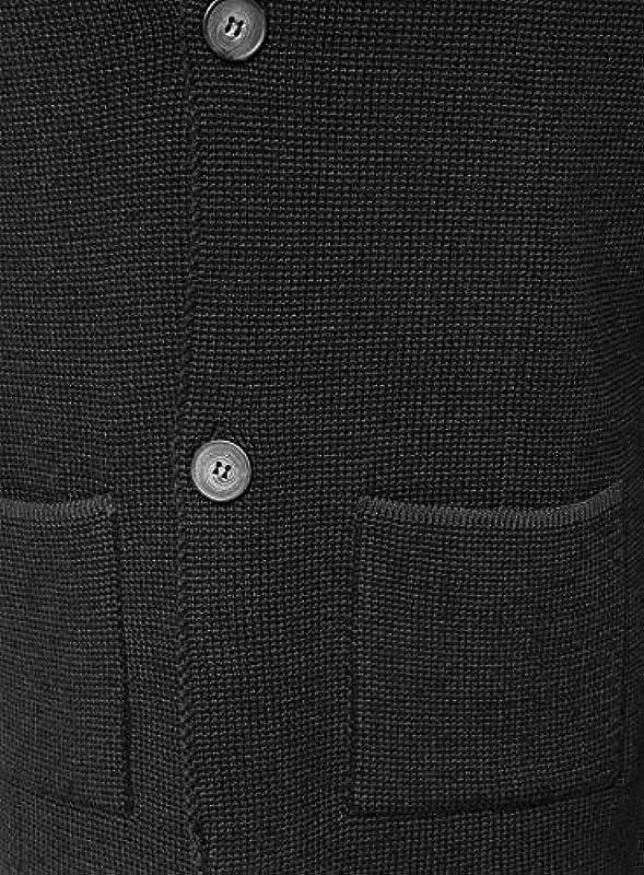 Keylargo Marcel męska kurtka z dzianiny, z naszytymi kieszeniami, kolor: anthra , rozmiar: s: Odzież