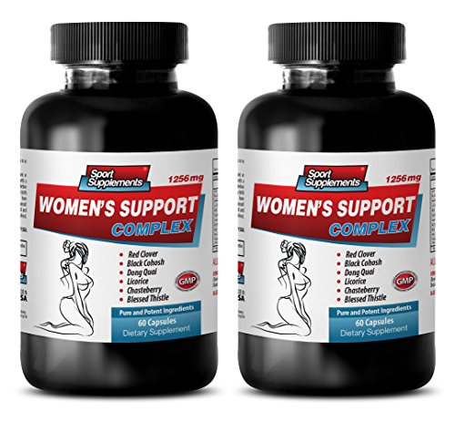 blood pressure diet - WOMEN'S SUPPORT COMPLEX - dong quai root capsules - 2 Bottles (120 Capsules) by Sport Supplements