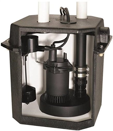 STA-RITE INDUSTRIES FPZS33LTS/FPOS180 Sta-Rite Fpos1800lts Heavy Duty Sink Pump System, 2880 Gph, 1/4 Hp, 115 V, 8.5 a, 60 Hz, 8 ft by Sta-Rite