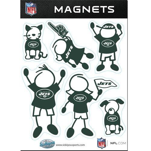 NFL New York Jets Family Magnet Set