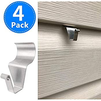 Vz Hang 7 Pack Vinyl Siding Hook Inconspicuous Design S