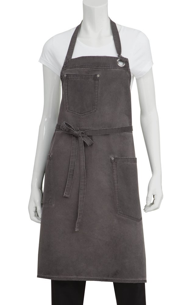 Chef Works Dorset Bib Apron (ABAQ054) by Chef Works