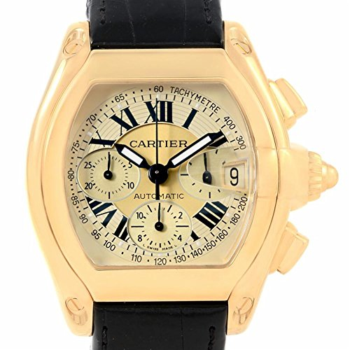 Cartier Roadster Automatic-self-Wind Male Watch W62021Y3 (Certified Pre-Owned)
