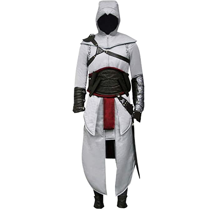 Amazon.com: Disfraz para hombre adulto Killer Altair Uniform ...