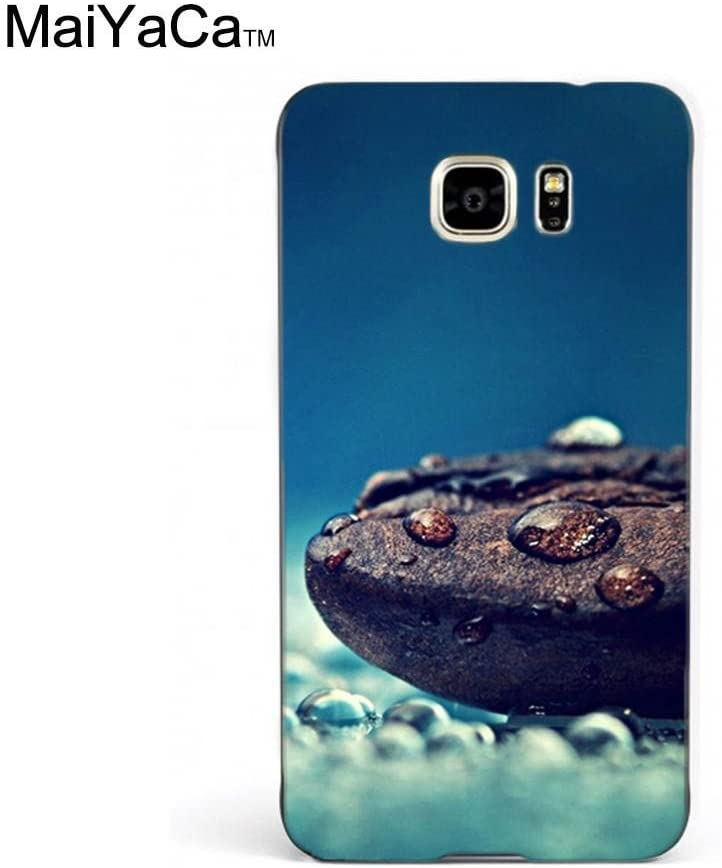 Amazon Com Maiyaca Tm M84768 Coffee Beans Water Drops Close Up Wallpaper Phone Case For Samsung Galaxy Note5