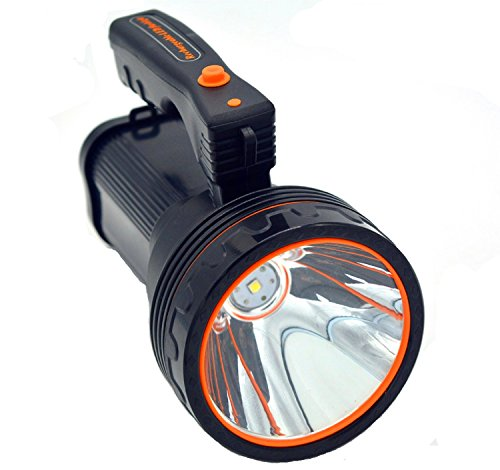 Ambertech Rechargeable 7000 Lumens Super Bright LED Searchlight Spotlight...