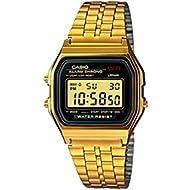 Vintage Collection Digital Unisex Bracelet Watch (Gold)