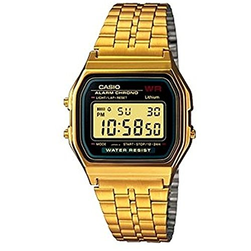 Casio Collection Women's Watch A159WGEA-1EF (Casio Gold Watch For Men)