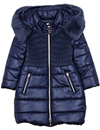 Mayoral Girl's Navy Quilted Puffer Coat, Sizes 2-9