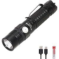 ThruNite TC15 2300LM EDC Flashlight (18650 IMR battery included)-Neutral White