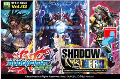 Future Card Buddyfight TCG English BFE-H-EB02 Shadow Vs Hero Extra Booster Box - 15 packs