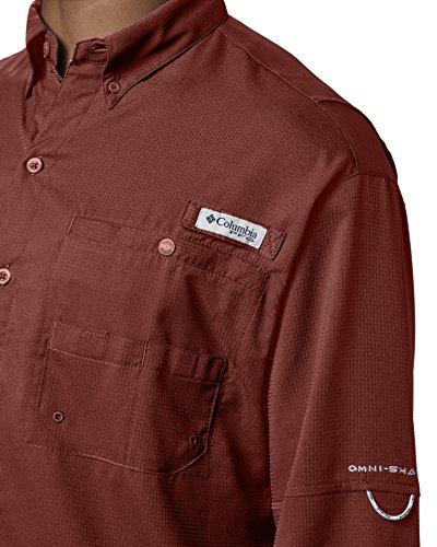 Columbia Men's PFG Tamiami II Long Sleeve Shirt , Rusty, XX-Large by Columbia (Image #5)