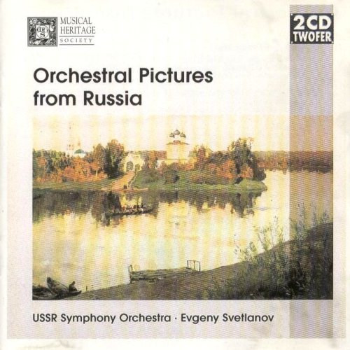 Orchestral Pictures from Russia by Musical Heritage Society