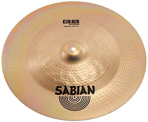 Sabian 31616B B8 Pro  16-inch China Cymbal (China Sabian B8)