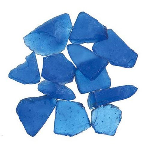 Genuine Glass Gems 1lb-Dark -