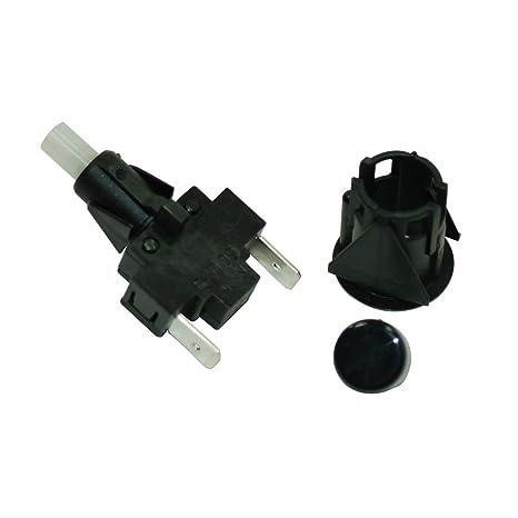 Interruptor de la luz y el botón para horno raangemaster ...