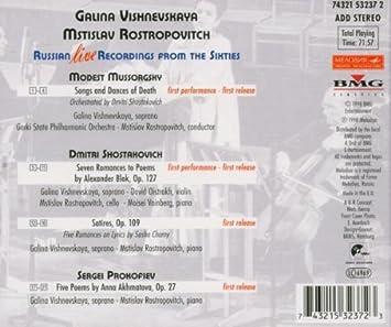 Petit guide discographique de la mélodie slave. 519y4v9QuuL._SX355_
