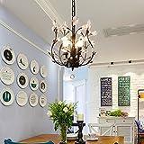 Garwarm 3-Light Crystal Chandeliers,Ceiling