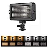 VILTROX 1070LM CRI95+ Dimmable Ultra Brightness LED Video Light Lamp Panel with LCD Display, 3300K-5600K Bi-color live video lighting for Live Stream Youtube video