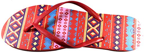 Design Red donna Octave Aztec Infradito BqwYtxv00O