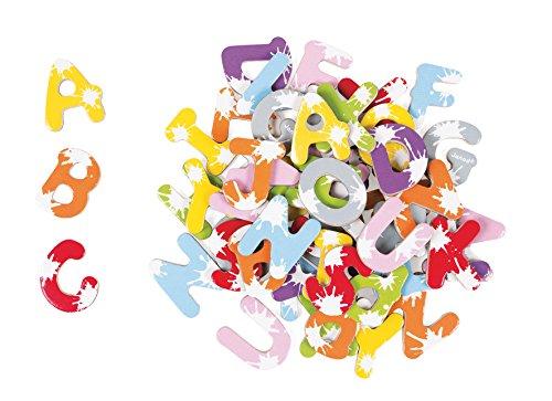 Janod - J09612 - Malette 52 lettres magnétiques Bois Splash