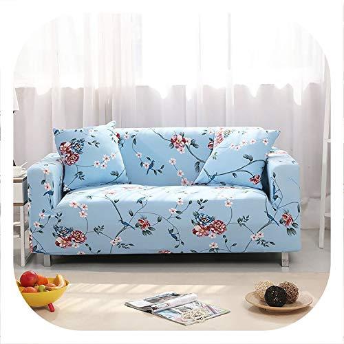 New face Elastic Sofa Covers for Living Room Sofa Towel Slip-Resistant Sofa Cover Stretch Sofa Slipcover,colour14,1-Seater 90-140cm