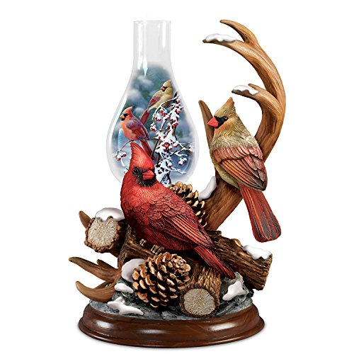 - Light Up Cardinal Sculpture With Bradley Jackson Cardinal Art by The Bradford Exchange