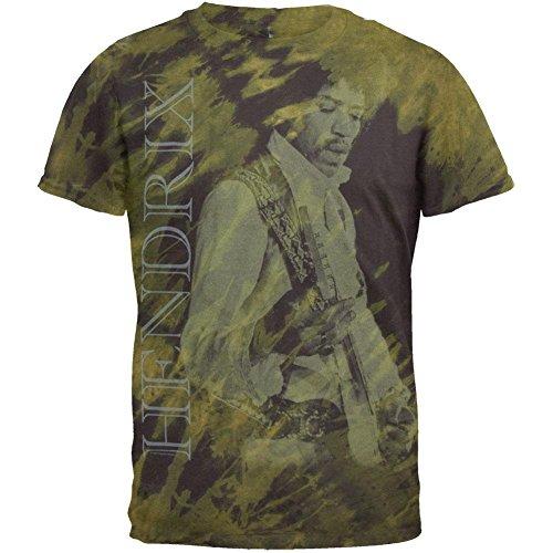Jimi Hendrix Tie Dye T-shirt (Jimi Hendrix - Earth And Space Tie Dye T-Shirt - Large)