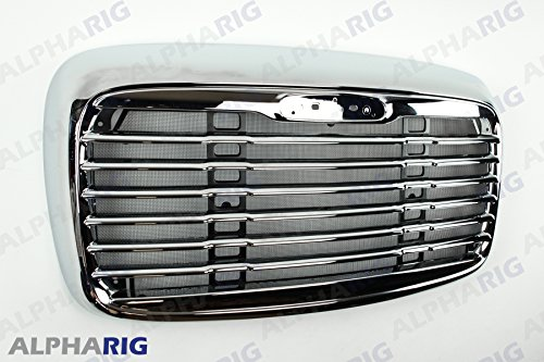 NEW Columbia Truck Chromed Grille Freight Liner Grill with Bug Screen