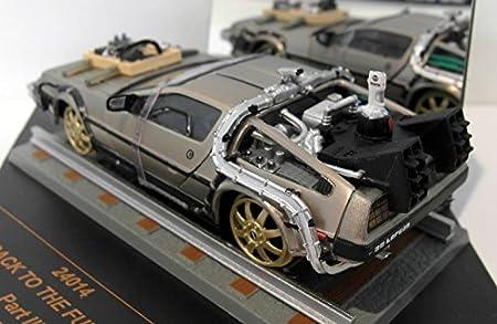 Amazon.com: DeLorean DMC 12, Back to the Future III, Model Car, Ready-made, Vitesse 1:43: Vitesse: Toys & Games