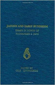 Jainism And Early Buddhism: Essays In Honor Of Padmanabh S. Jaini por Olle Qvarnstrom epub