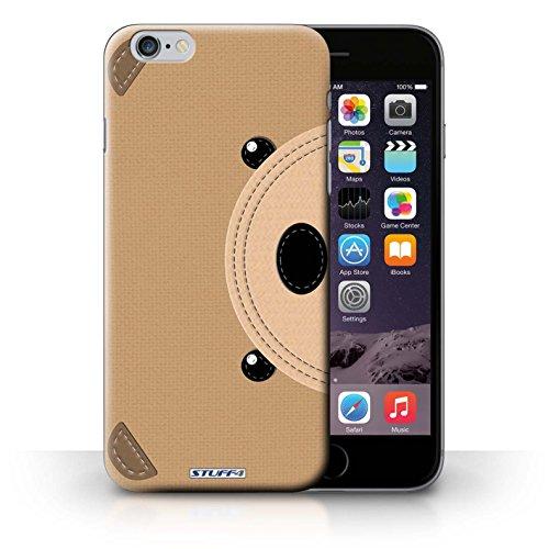 Hülle Case für iPhone 6+/Plus 5.5 / Bär Entwurf / Genähte Tier Effekt Collection